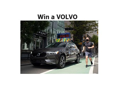 Run for Volvo Sweepstakes