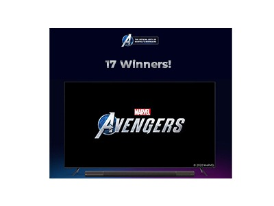 VIZIO Marvel Avenger's Sweepstakes