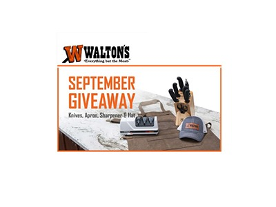 Walton's September 2020 Giveaway