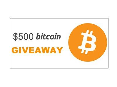 $500 Bitcoin Giveaway