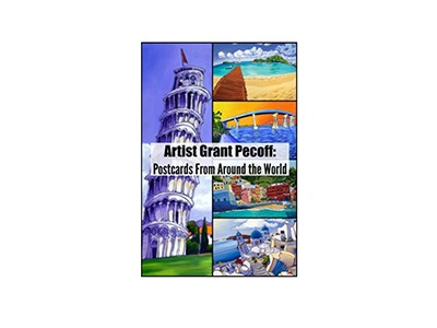 Artist Grant Pecoff: Postcards from Around the World Giveaway