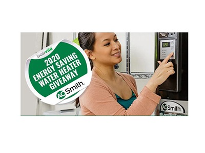 Bob Vila's 2020 Energy Saving Water Heater Giveaway