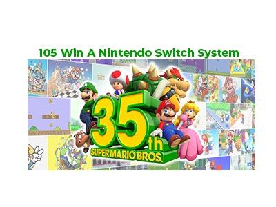 Coldstone Creamery Nintendo 2020 Sweepstakes