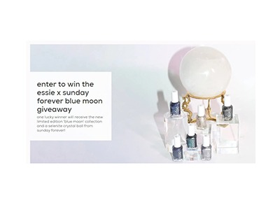 Essie Blue Moon collection Giveaway