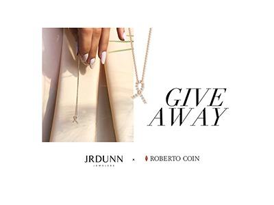 JR. Dunn Diamond Ribbon Necklace Giveaway