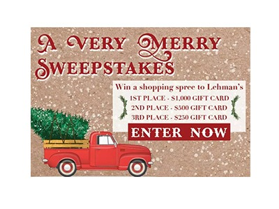 Lehman's A Very Merry Sweepstakes