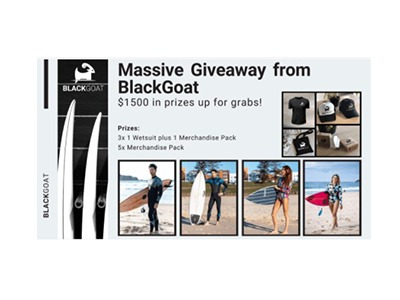Massive Wetsuit Giveaway from BlackGoat