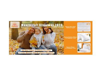 Maxzzz Fall Giveaway 2020