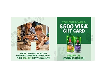 Art of Green #TheMessIsReal Sweepstakes