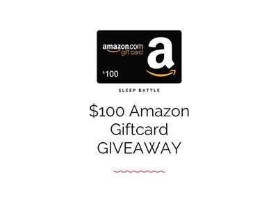 Sleep Battle Amazon Gift Card Giveaway