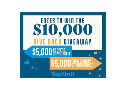 TapOnIt's $10k Give Back Giveaway