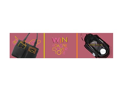 Dagne Dover Tote Sweepstakes