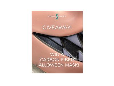 Win a Carbon Fiber Halloween mask