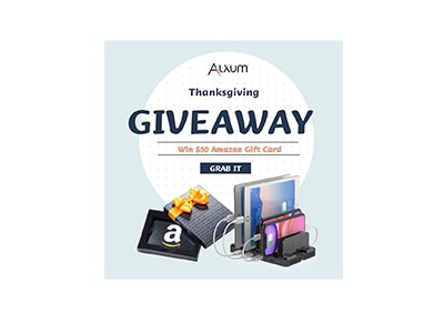 Alxum Thanksgiving Giveaway