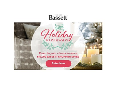 Bassett 10K Holiday Giveaway