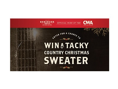 Berringer Bros Tacky Sweater Sweepstakes