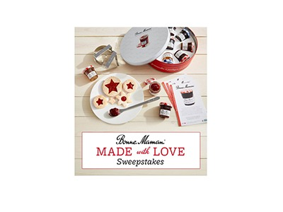 Bonne Maman Made with Love Sweepstakes