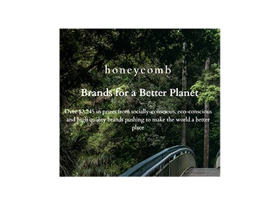 Honeycomb Brands for a Better Planet Giveaway