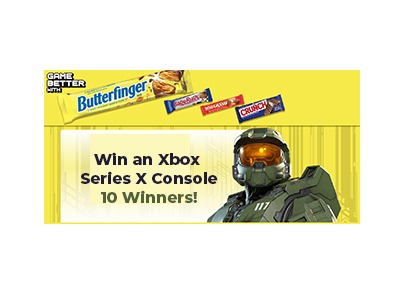 Butterfinger & Co Halo Infinite Sweepstakes