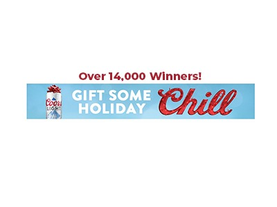 Coors Light Holiday Sweepstakes 2020