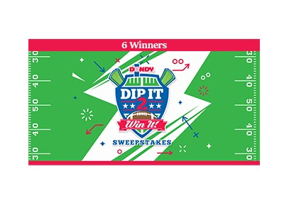 Dandy Dip It 2 Win It 2020 Sweepstakes