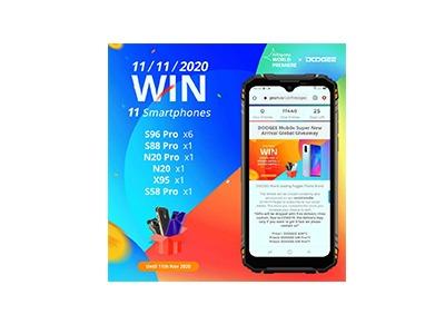 Doogee Smartphones Giveaway