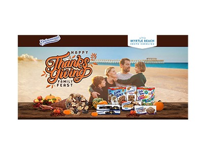 Entenmann's Thanksgiving Family Feast Myrtle Beach Sweepstakes