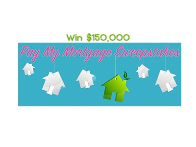 Pay My Mortgage Sweepstakes