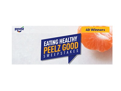 Eating Healthy Peelz Good Sweepstakes