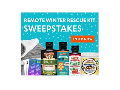 Remote Winter Rescue Kit Sweepstakes