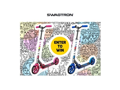 SWAGTRON K8 Kick Scooter Sweepstakes