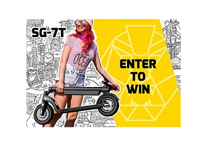 SWAGTRON Electric Scooter Giveaway