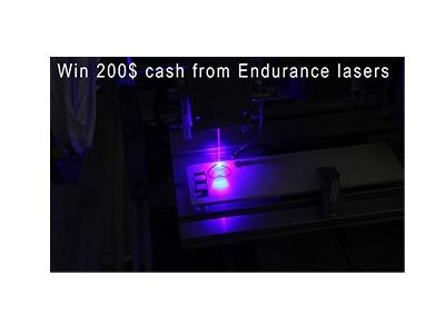 Endurance Lasers Cash Giveaway