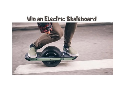 Win The Electric Skateboard Package Of Your Dreams