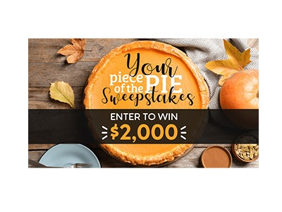 Your Piece of the Pie Sweepstakes