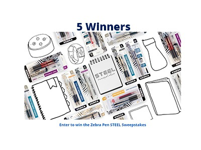 Zebra Pen STEEL Sweepstakes