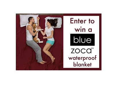 Blue Zoca Waterproof Blanket Giveaway