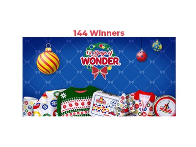 Wonder Bread 12 Days of Wonder Sweepstakes