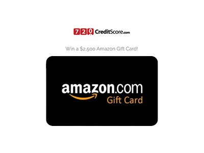 $2,500 Amazon Gift Card Giveaway