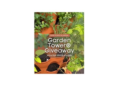 Grow Your Own Organics Garden Tower Giveaway