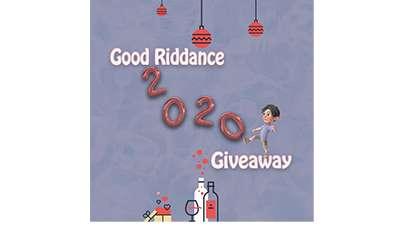 Good Riddance 2020 Cash Giveaway