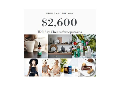 Holiday Cheers Sweepstakes