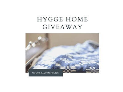 Hygge Home Giveaway 2020