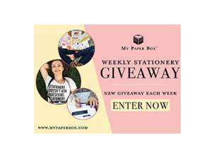Mystery Stationery Box Giveaway