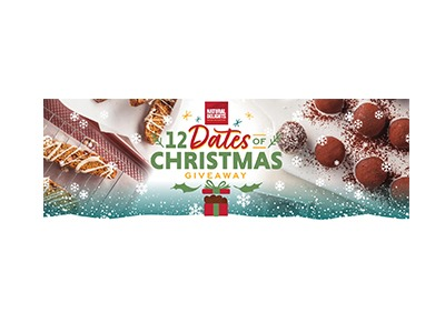 Natural Delights 12 Dates of Christmas Giveaway