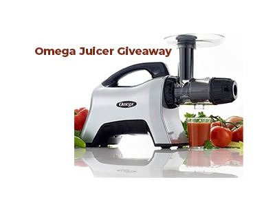 Omega Juicer Extractor Giveaway