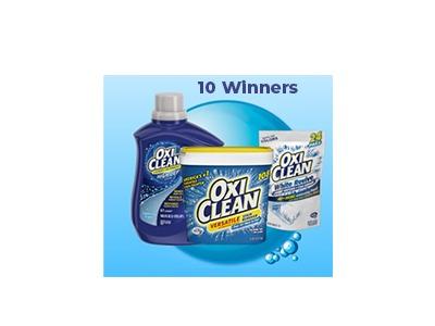 OxiClean Amazon Gift Card Sweepstakes