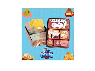 Sushi Go! Card Game Giveaway