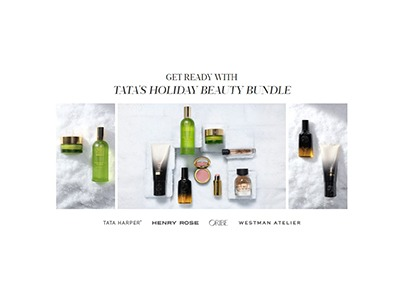 Tata's Holiday Beauty Bundle Giveaway