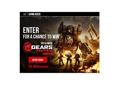 The Ultimate Gears Tactics Swag Box Sweepstakes